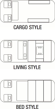 CARGO STYLE LIVING STYLE BED STYLE